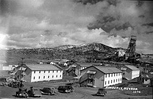 Kimberly, Nevada - Kimberly in the 1940s