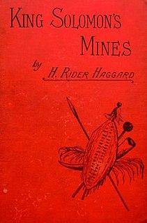 <i>King Solomons Mines</i> novel by H. Rider Haggard