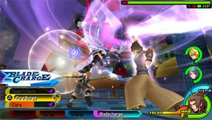 Kingdom Hearts Birth by Sleep - Image: Kingdom Hearts Birth by Sleep Gameplay