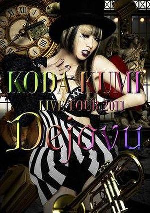 Live Tour 2011: Dejavu - Image: Koda Live Tour 2011 cover