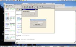 Liberty BASIC - Liberty Basic v4.03 running on Linux with Wine
