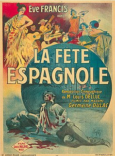 1920 film by Germaine Dulac