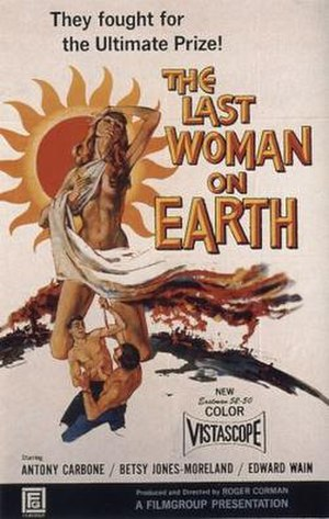 Last Woman on Earth - Film poster by Albert Kallis