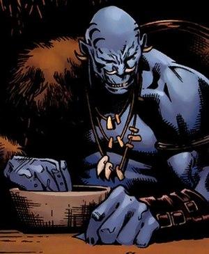 Laufey (comics) - Image: Laufey Marvel