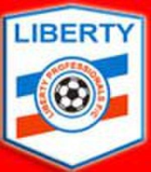 Liberty Professionals F.C. - Liberty Professionals FC old logo.
