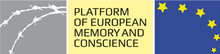 Logo of the Platform of European Memory and Conscience of the European Union.png