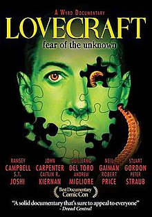 Lovecraft - Fear of the Unknown (2008) DVD cover.jpg