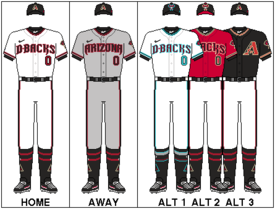 picture relating to Diamondbacks Schedule Printable named Arizona Diamondbacks - Wikipedia