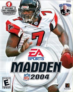 <i>Madden NFL 2004</i> 2003 American football video game