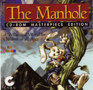 The Manhole - Cover art for The Manhole: CD-ROM Masterpiece Edition