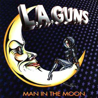 Man in the Moon (L.A. Guns album) - Image: Maninthemoon