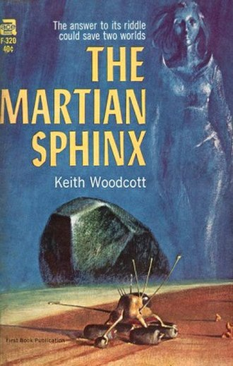 The Martian Sphinx - Cover of the first edition