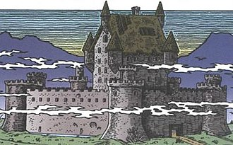 Clan McDuck - McDuck Castle in The Old Castle's Other Secret or A Letter from Home by Don Rosa.