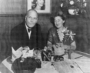 Robert M. McBride - Robert M. McBride and Dorothy Frooks, Stork Club, 1952