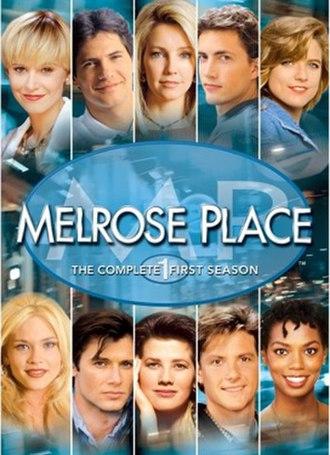 Melrose Place (season 1) - DVD cover