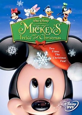 Mickey's Twice Upon a Christmas - DVD cover