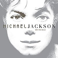 Michael Jackson Invincible record cover