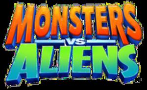 Monsters vs. Aliens (franchise) - Image: Monsters vs. Aliens logo