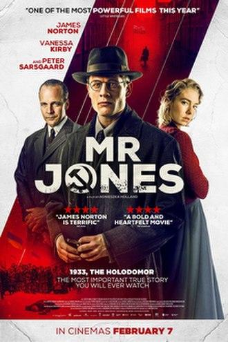 Mr. Jones (2019 film) - Film poster