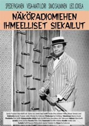Näköradiomiehen ihmeelliset siekailut - DVD cover