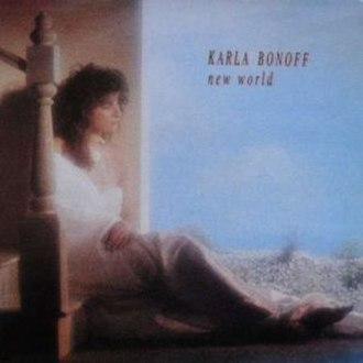 New World (Karla Bonoff album) - Image: New World Cover