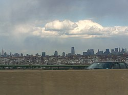 New York City from the New Jersey Turnpike
