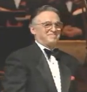 Nick Perito - Nick Perito as the conductor for Perry Como's last performance, 1994.