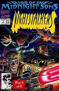 Nightstalkers (comics) Fictional comic book
