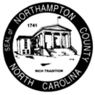 Northampton County, North Carolina - Image: Northampton nc seal