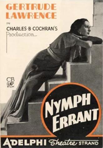 Nymph Errant - Original West End programme