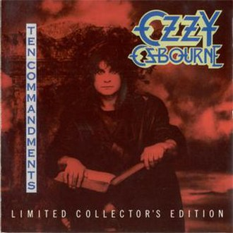 Ten Commandments (Ozzy Osbourne album) - Image: Ozzy Osbourne Ten Commandments