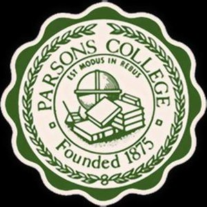 Parsons College - Parsons College seal