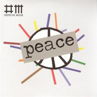 Peace (Depeche Mode song) - Image: Peace Single Cover