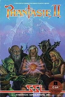 <i>Phantasie II</i> 1986 video game