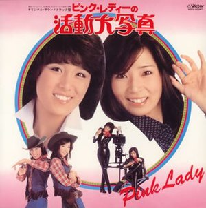 Pink Lady no Katsudou Ooutsushin - Image: Pink Lady The Soundtrack