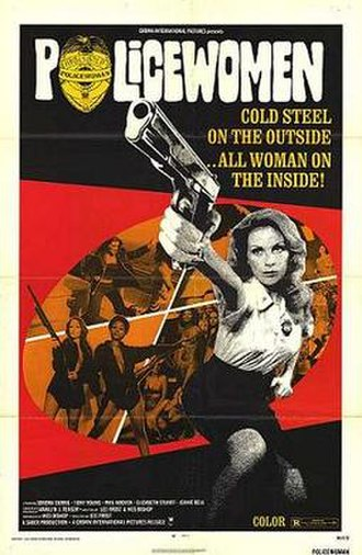 Policewomen (film) - Theatrical release poster