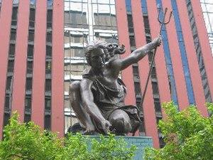 Portlandia (statue) - Image: Portlandia sculpture