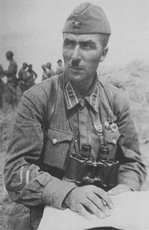 54th Army (Soviet Union) - I.I. Fedyuninsky ca. 1939, when he held the rank of Lt. Colonel