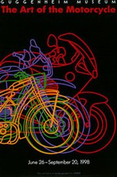 Poster - Guggenheim Museum - The Art of the Motorcycle - June 26- September 1998.jpg