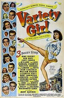 <i>Variety Girl</i> 1947 film by George Marshall