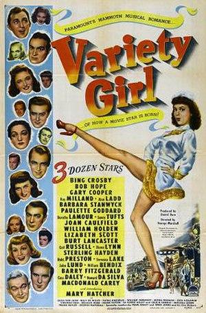 Variety Girl - Image: Poster Variety Girl 01