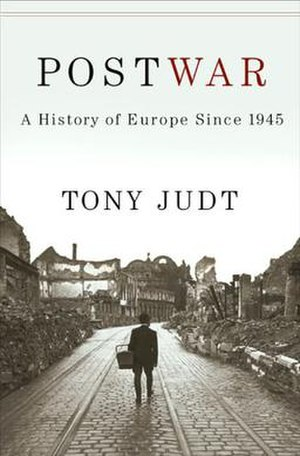 Tony Judt - Postwar: A History of Europe Since 1945 cover