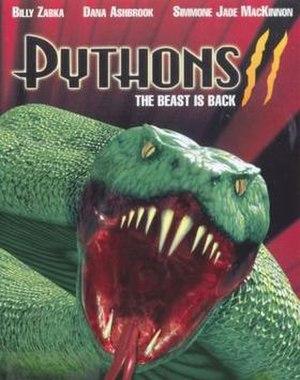Pythons 2 - DVD cover