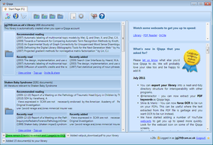 Qiqqa is a PDF research management tool and brainstorming tool