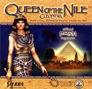 Pharaoh (video game) - Image: Queen of the Nile Cleopatra Coverart