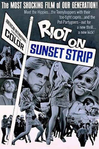 Riot on Sunset Strip - Film poster