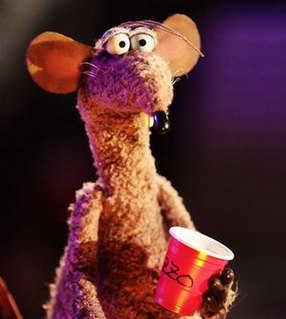 Rizzo the Rat Muppet character