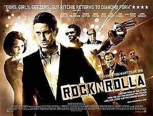 RocknRolla - Theatrical release poster