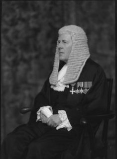 Ronald Armstrong-Jones Welsh barrister and soldier