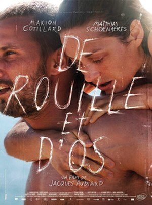 Rust and Bone - Theatrical release poster